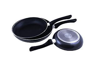 Uniqos Kitchen Premium Quality Non-stick Frying Pan Set