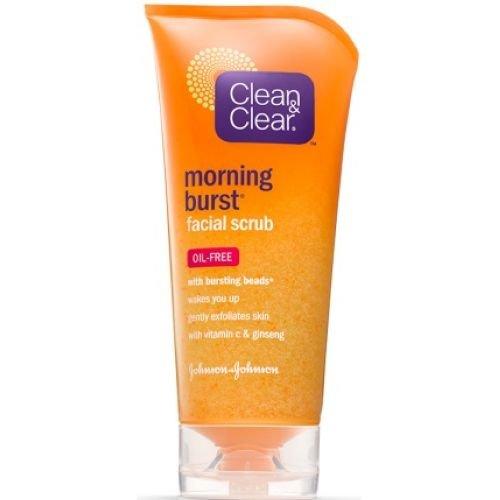 Clean and Clear Morning Burst Orange Facial Scrub, 1 Ounc...