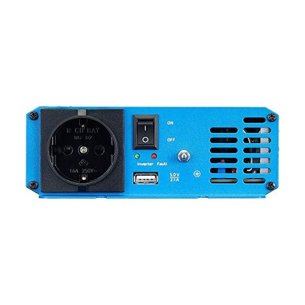 41jj74lMTNL ECTIVE 300W 12V zu 230V Sinus-Wechselrichter SI 3 mit reiner Sinuswelle in 7 Varianten