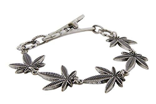 Cannabis Style Bracelet Roach 7 5 inch