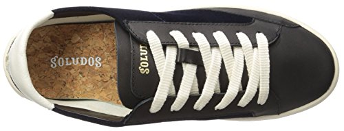 Ibiza Navy Black Soludos Classic Sneaker Women's Lace up U6aAwq