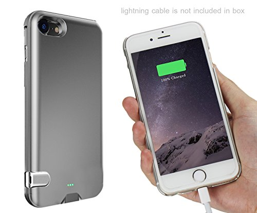 finest selection 1af59 76060 iPhone 7 Battery Case, Stoon [Slim Fit] iPhone External Battery ...