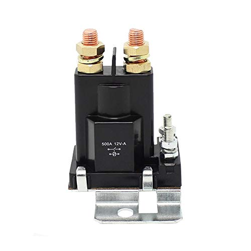 Fincos EE Support Car 12V 200A Power Relay Battery Isolator High Current Applications XY01 (Isolators Current High)