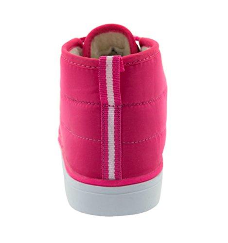 Beppi Winterstiefel für Jungen & Mädchen | Wetterschuhe mit warmer Fütterung | Wasserabweisende Beschichtung Kinderschuhe Schneeschuhe | Farbe: Blau & Pink Pink