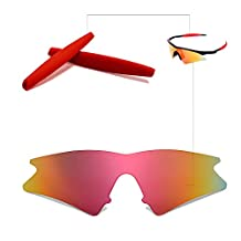 Walleva Replacement Lenses or Lenses With Rubbers for Oakley M Frame Sweep - Multiple Options