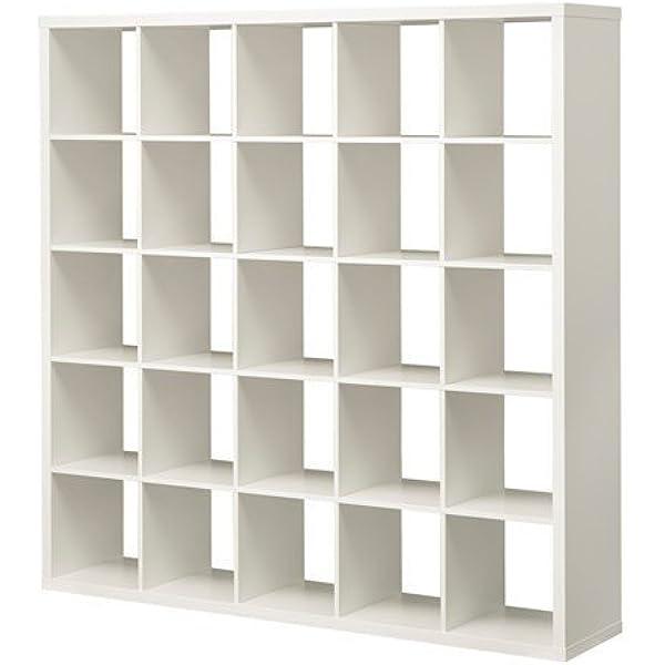 IKEA KALLAX estantería de pared blanco; (182 x 182 cm ...