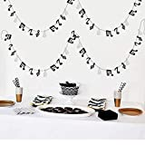 Furuix Music Note Garland G Clef Garland, Music Party Banner, Music Theme Party Decorations, Music Birthday, Rock Star Birthday Rock and Roll Party, Music Theme Party