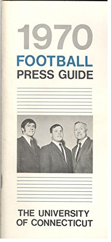 (University of Connecticut Football 1970 Press Guide (UConn))