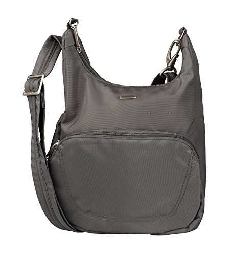 79a0c76617f Travelon Anti-Theft Classic Essential Messenger Bag (One Size, Pewter)