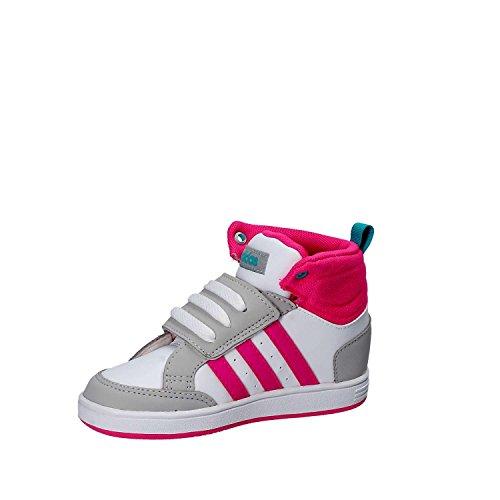 2dab4f70f3ddc Adidas CG5768 Bianco Dal 20 al 27 Sneakers Con Strappo Scarpe Bambina  Ginnastica  Amazon.it  Scarpe e borse