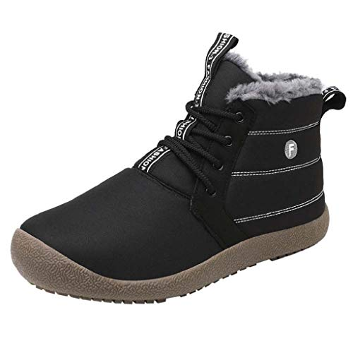 terproof Ventilation Cross Tied Sneakers Absorption Snow Boots Breathable Casual Wear Resistant Shoes Thickening Antiskid Comfy Running Jogging Fitness Athletic Walking Outdoors ()