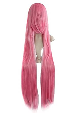 "40"" Maria/REBORN Bianchi Lucky Star pink Cosplay wig jf010077"