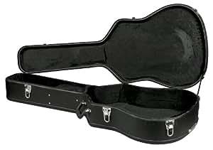 Carroña C-1501 preocupaba funda con tapa para guitarra Dreadnought