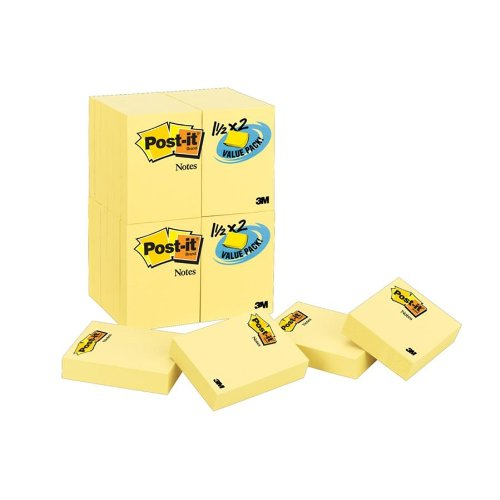 post-it-notes-value-pack-1-1-2-x-2-inches-canary-yellow-24-pads-pack