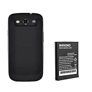 Seidio BACY35SSGS3N-BK Innocell 3500mAh Extended Life Battery with NFC for Samsung Galaxy S III - Retail Packaging - Black