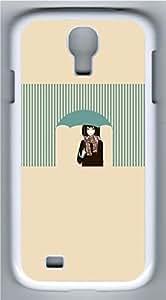 Samsung Galaxy S4 Case Customized Unique Umbrellas Anime Girl Cover For Samsung Galaxy S4 I9500