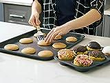 Elbee Home 8 Piece Baking Pan Set, Patented Space