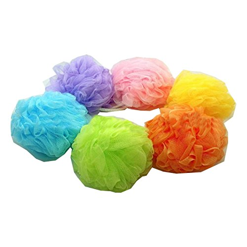 18~180pc Bath Sponge Shower Nylon Scrubbers Exfoliating Body Scrub Lot Wholesale (72 Pcs)