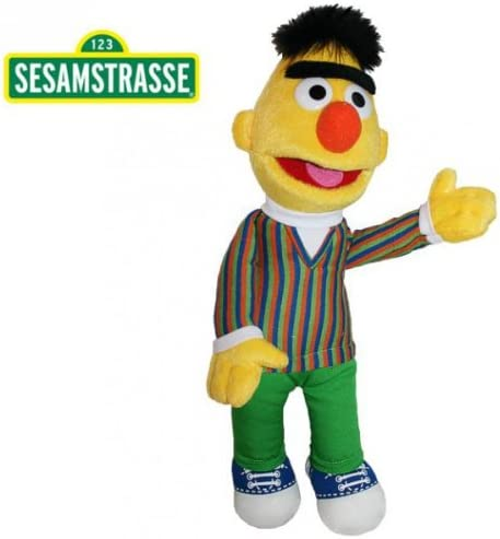 Sesame Street 37 cm Felpa Figura de Peluche Barrio S/ésamo Bert