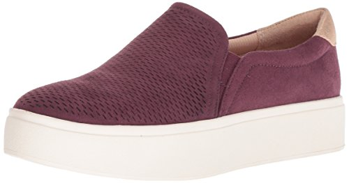 Dr. Scholl's Shoes Women's Kinney Sneaker, Violet Microfiber Perforated, 8 M US (Best Shoes For Female Doctors)