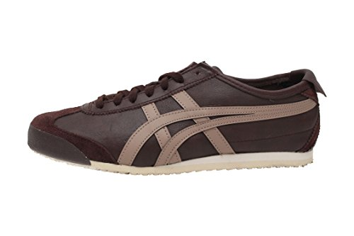 the best attitude 49f63 2151f Onitsuka Tiger Mexico 66 Classic Running (10 Women/8.5 Men M US,  Coffee/Taupe Grey)