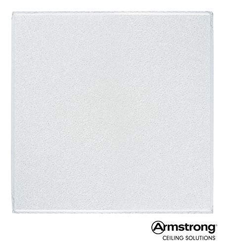 Armstrong Ceiling Tiles; 2x2 Ceiling Tiles – HUMIGUARD Plus Acoustic Ceilings for Suspended Ceiling Grid; Drop Ceiling Tiles Direct from the Manufacturer; DUNE Item 1774 – 16pcs White Tegular from Armstrong