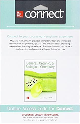 Connect 1 semester access card for general organic biological connect 1 semester access card for general organic biological chemistry 3rd edition fandeluxe Images