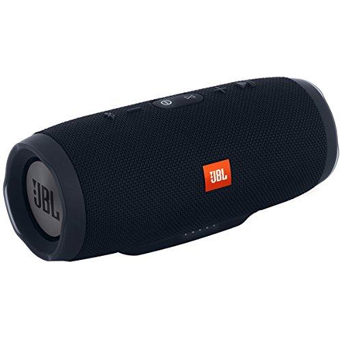 JBL Charge 3 Portable Bluetooth Waterproof Speaker - Black