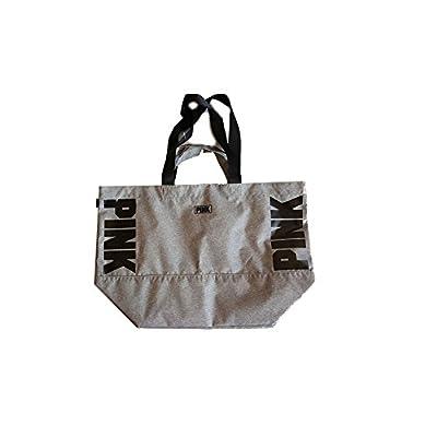939585ac89 low-cost Victoria s Secret Pink Double Strap Tote Bag Large Seafoam Glow