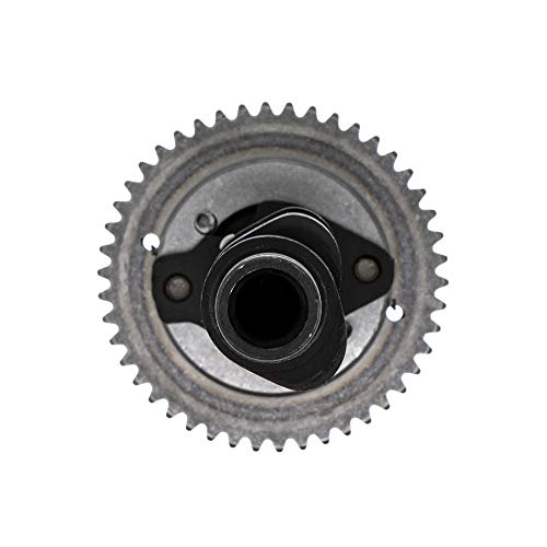 (Camshaft Assembly With Cam Gear Sprocket For 2002-2008 Yamaha Grizzly Rhino 660 Replaces)