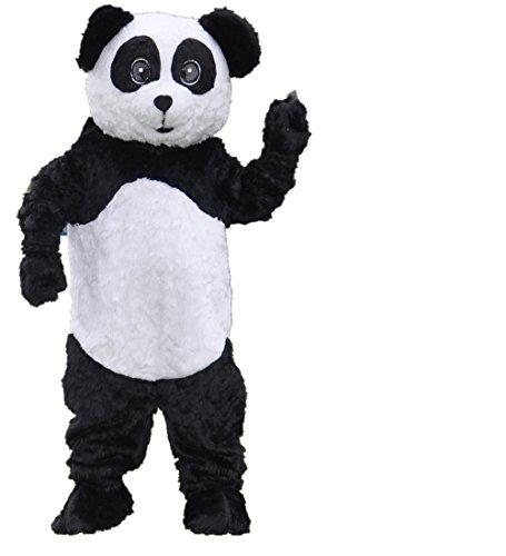 MascotShows New Plush Giant Panda Mascot Costume Halloween Party Dress (Dude Perfect Panda Costume)