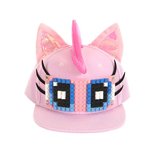 Pinkie Pie Cosplay Costume (BRICKY BLOCKS Little Pony Pinkie Pie Build On Snapback Kit by Elope)