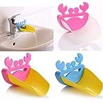 GOOD01-bambini-bambino-mano-rondella-Extender-vendita-calda-carino-bagno-acqua-del-rubinetto-Extender-per-Kid-bambino-lavaggio-a-mano-lavello-grondaia-guida-Multi