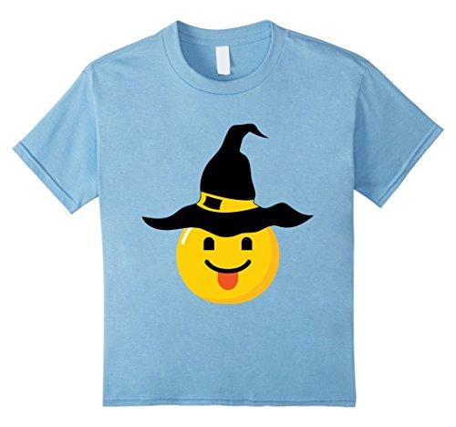 Naughty School Boy Costumes (Kids Emoji Halloween Costume Naughty Sassy Smile Witch Costume 8 Baby Blue)