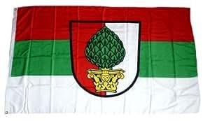 FahnenMax - Bandera de Augsburgo, 90 x 150 cm