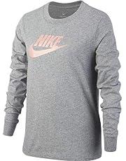 Nike - Ci8295, T-Shirt a Manica Lunga Bambina