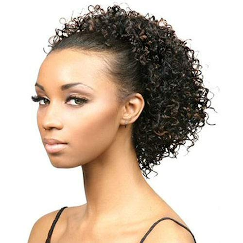 Motown Tress (FXLB-206) - Synthetic Half Wig in 1B ()