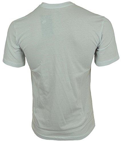 bianca bianca Uomo Nike T tecnica grigio Swoosh scuro shirt twY6qqIxR