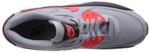 Nike Air Max 90 - Zapatillas para mujer Gris - Wolf Grey/ Infared-Black-White