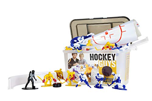 Kaskey Kids Classic Hockey Guys Action Figure Set Will Inspire Endless Hours of Creative and Imaginative Play in Hockey Fans -