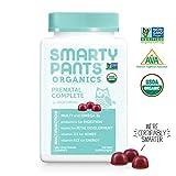 SmartyPants Organic Gluten Free, Vegetarian, Prenatal Daily Gummy Vitamins: Multivitamin, Omega-3, Probiotic, Methylfolate