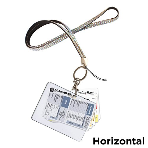 Rapid ID Lanyard Nurse Pack Horizontal (Peacock)
