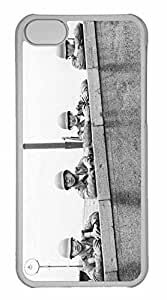 iPhone 5C Case, Personalized Custom War Vintage Photography for iPhone 5C PC Clear Case