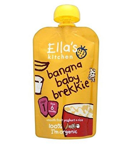 Ella'S Kitchen Banana Baby Brekkie Stage 1 From 6 Months 100G - Pack of 2 by Ella's Kitchen