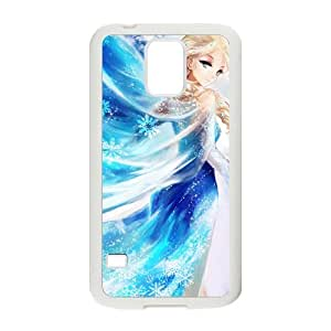 Happy Frozen Princess Elsa Cell Phone Case for Samsung Galaxy S5