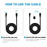 Seltureone 16ft /5m Replacement Oculus Link Cable