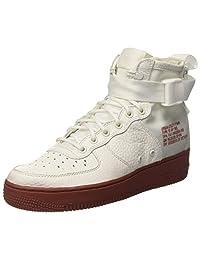 Nike SF AF1 MID 'RED Ivory' - 917753-100