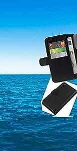 NEECELL GIFT forCITY // Billetera de cuero Caso Cubierta de protección Carcasa / Leather Wallet Case for Sony Xperia Z3 D6603 // Azul océano y el cielo