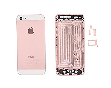 iphone 5s rose gold. new housing body panel - for iphone 5s rose gold iphone p
