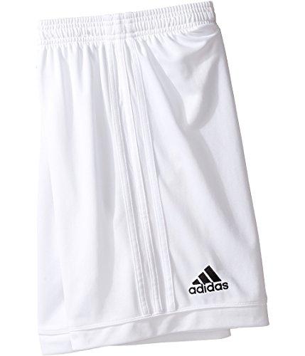 adidas Youth Soccer Squadra 17 Shorts, White/White, X-Small